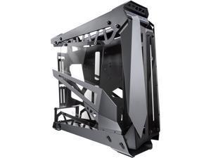 "RAIJINTEK NYX PRO -Titan, a Open Frame Alu. Case (EE-B M/B), 4mm Tempered Glass, Flip Open Top Panel & Front Panel, max. 496mm VGA Card, max. 2.5""SSD×4, max. 12025 Fanx6, PCI Express Gen3.0 Riser Card"
