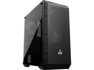 Montech Air 900 Mesh ATX Mid-Tower PC Gaming Case, High & Max Airflow, Full-Metal Mesh Front Panel, Tempered Glass, Dust- Proof, Unique Mesh Side Panel - EATX, ATX, Micro ATX, Mini ITX - Black
