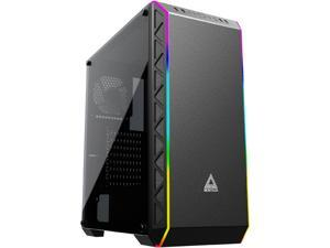 Montech Air 900 ARGB ATX Mid-Tower PC Gaming Case/ High-Airflow, ARGB Lighting Strip, Sync With Motherboard, Dust- Proof, Unique Mesh Side Panel/ EATX, ATX, Micro ATX, Mini ITX, Black
