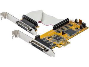 StarTech.com PEX8S1050LP 8-Port PCI Express Serial Card - 16C1050 UART RS232 - PCIE Low Profile Bracket - DB9 Serial Card (PEX8S1050LP)