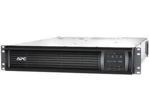 APC Smart-UPS 3000VA LCD RM 2U 120V with Network Card