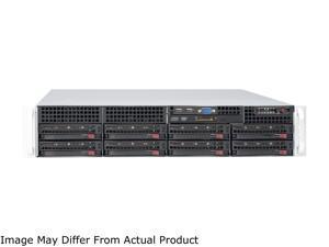 Superchassis CSE-825TQ-600LPB 600W 2U Rackmount Server Chassis (Black)