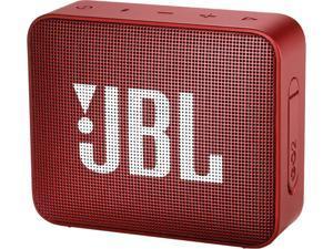 JBL Go 2 Portable Bluetooth Waterproof Speaker (Red)