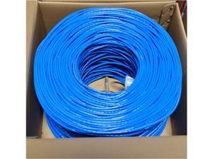 Premiertek CAT6-CCA-1KFT-BL 1000Ft Cat6 Blue Utp 23Awg Cca Network Cable 4Pr