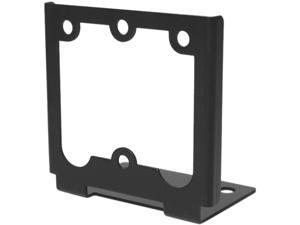 RF Ideas KT-ANGLE Black Angle Mounting Bracket For A Pcprox Reader To Be Mounted Vertical Or Side Position, Includes Angle Bracket, (2) #4 Screws, (2) Foam Tape Squares, Instructions
