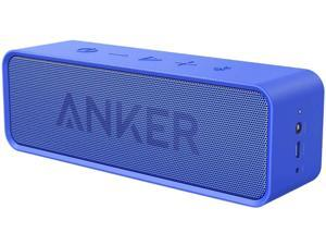 Anker Soundcore Bluetooth Speaker with 24-Hour Playtime, 66-Feet Bluetooth Range & Built-in Mic, Dual-Driver Portable Wireless Speaker with Low Harmonic Distortion and Superior Sound