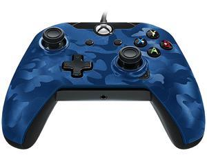 PDP Wired Controller For Xbox One & PC - Blue Camo