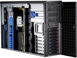 Supermicro GPU SuperWorkstation SYS-7049GP-TRT Dual LGA3647 DDR4 2200W 4U Rackmoutable / Tower Workstation Barebone System
