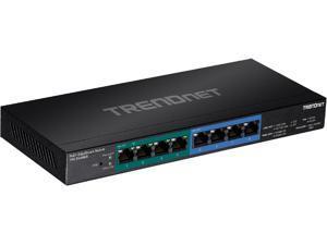 TRENDnet TPE-TG44ES Tpe Tg44Es - Switch - 4 X 10/100/1000 (Poe+) + 4 X 10/100/1000 - Desktop, Wall-Mountable - Poe+ (60 W)