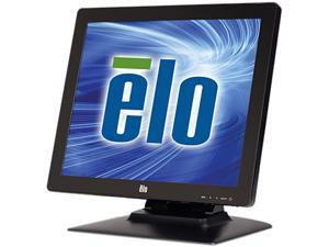 """Elo E683457 1723L 17"""" Touchscreen Monitor with Base, OSD, Built-in Speakers, PCAP (Projected Capacitive) 10 Touch - Black (Worldwide)"""