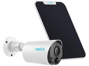 Reolink Argus Eco Wireless Home Outdoor IP Camera Battery Powered with Solar Panel and Free Cloud Storage
