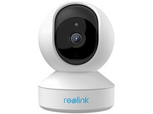 Reolink 5MP 3X Zoom Super HD Plug-in WiFi Camera with Pan Tilt Zoom/Motion Alters Indoor Security Camera Dual Band WiFi /E1 Zoom