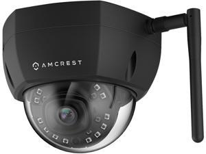 Amcrest ProHD Outdoor 2 Megapixel WiFi Vandal Dome IP Security Camera - IP67 Weatherproof, 2MP (1920 TVL), IP2M-851B (Black)
