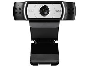 Logitech  C930C Webcam 1080P H.264 Video Calling Computer Camera Business Remote Online Teaching Web Cam Clip-on Camera With Mic For Laptop Notebook Monitor