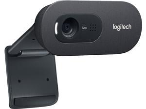 Logitech C270i HD 720p 30fps 5MP Web Cam Widescreen Video Webcam Computer Laptop PC Camera for Video Calling Recording Online Teaching Learning