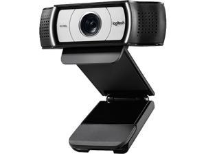 Logitech C930c 1080P HD Video Webcam - 90-Degree Extended View, Microsoft Lync 2013 and Skype Certified - Black