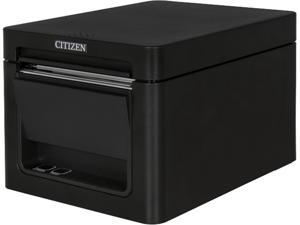 Citizen CT-E351 Compact Thermal POS Printer, Front Exit, Serial, USB, Black - CT-E351RSU-BK