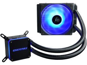 Enermax LIQMAX III RGB 120, All-in-one CPU Liquid Cooler for AM4 / LGA1200, 120mm Radiator, Dual-Chamber Water Block, RGB Fan