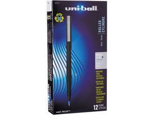Uni-ball Stick Fine-Point Rollerball Pen, 0.5mm, Blue   60153
