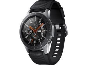 Samsung Galaxy Watch 46mm LTE Smartwatch with Heart Rate Monitor - Black/Silver