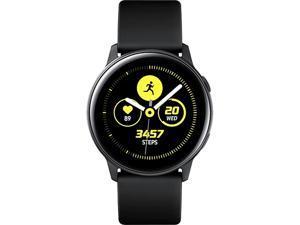 Samsung Galaxy Watch Active Wireless Bluetooth Smartwatch with Heart Rate Monitor - Black (SM-R500NZKAXAC)