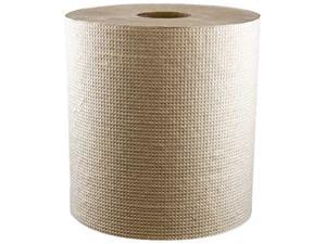 "Morcon R6800 Morsoft Hardwound Commercial Paper Towel, 8"" x 800ft, Kraft Color - 1 Case (6 Rolls)"