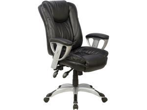 TygerClaw TYFC2207 Executive High Back PU Leather Office Chair