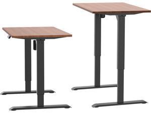 AIMEZO Electric Stand Up Desk Workstation Single Motor Height Adjustable Motorized Sit Stand Desk Base