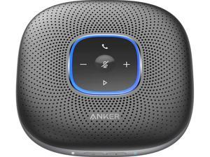 Anker PowerConf Bluetooth Speakerphone with 6 Microphones, Enhanced Voice Pickup, 24 Hour Call Time, Bluetooth 5, USB C, Conference Speaker Compatible with Leading Platforms, PowerIQ Technology