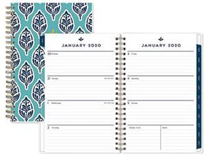 Sullana Weekly/Monthly Planner, 8 x 5, Teal Cover, 2021 110570
