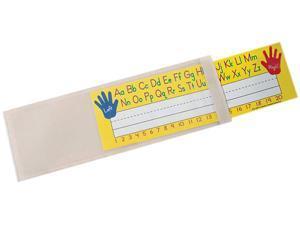 "Ashley Nameplate Pocket - Off White - Plastic - 12.5"" Width"