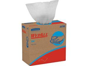 WypAll X60 Reusable Cloths (34790) in Convenient Pop-Up Box, White, 126 Sheets / Box