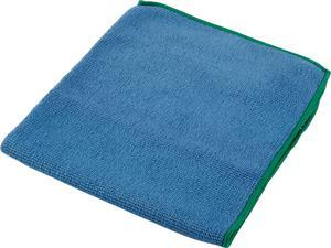 """WypAll Microfiber Cloths (83620), Reusable, 15.75"""" x 15.75"""", Blue, 4 Packs / Case, 6 Wipes / Container, 24 / Case"""