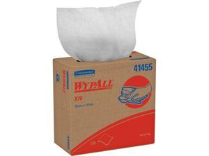 WypAll X70 Extended Use Reusable Cloths (41455), POP-UP Box, Long Lasting Performance, White (100 sheets / pack)