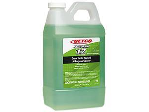 Betco 1984700 Green Earth Natural All Purpose Cleaner, 2 L FastDraw - Qty 4