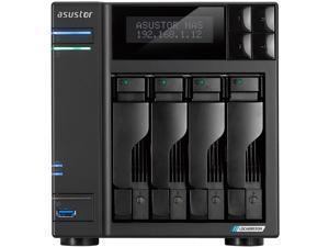 Asustor AS6604T 4Bay NAS Intel Gemini Lake -Refresh Quad-Core 4GB DDR4 SODIMM M.2 Slots Network Attached Storage