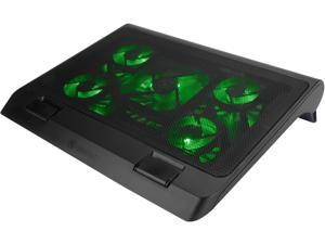 Accessory Power ENGXC10100GNEW Enhance Gaming Laptop Cooling Pad Stand With Led Fans , Adjustable Height , & Us