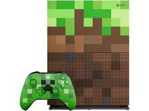 Microsoft Xbox One S 1TB Limited Edition Console - Minecraft Bundle