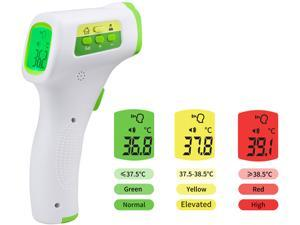 CNSL Infrared Forehead Thermometer Non-Contact Digital Thermometer with Fever Alert Function, 3 in 1 Digital Medical Infrared Thermometer for Baby, Adults and Surface of Objects