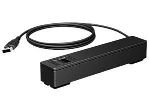HP 4VW57AT Smart Buy Engage One Prime Fingerprint Reader, USB 2.0 - Black