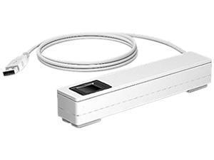 HP 4VW63AT HP Smart Buy Engage One Prime Fingerprint Reader, USB 2.0 - White