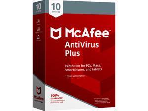 McAfee AntiVirus Plus 2018 - 10 Device