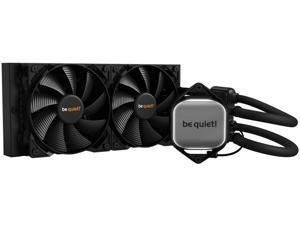 be quiet! PURE LOOP 240mm All-In-One Water Cooling System, CPU Cooler, Pure Wings 2 x 120mm PWM Fans