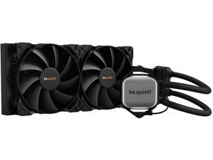 be quiet! PURE LOOP 280mm All-In-One Water Cooling System, CPU Cooler, Pure Wings 2 x 140mm PWM Fans