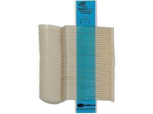 SmartStock Plastic Cutlery Refill Spoons Beige 40/Pack 24 Packs/Carton