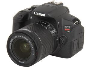 Canon EOS Rebel T5i 8595B003 Black 18.0 MP Digital SLR Camera with 18-55mm IS STM Lens