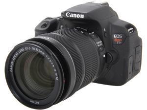 Canon EOS Rebel T5i 8595B005 Black 18.0 MP Digital SLR Camera with EF-S 18-135mm IS STM Lens