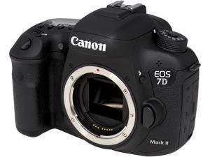 Canon EOS 7D MARK II 9128B002 Black 20.2 MP Digital SLR Camera - Body