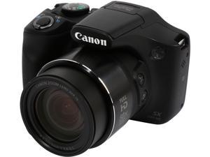 Canon SX530 HS Black 1.60 MP 50X Optical Zoom Wide Angle High-End, Advanced Digital Camera