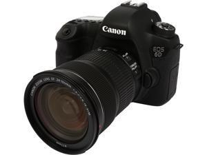 Canon EOS 6D 8035B106 Black 20.2 MP Digital SLR Camera with EF 24-105mm f/3.5-5.6 IS STM Lens